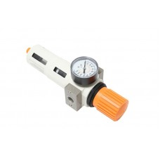 Air filter regulator with pressure indicator ''Profi''3/8''(capacity: 2000 l/min,16bar, air temperatu
