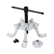 Universal wheel hub puller mechanical sectional with bolt fixation (Ø110-160mm, 5 replaceable jaws)