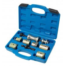 Set of windshield-finger pullers with slide hammer 8pcs, in a case