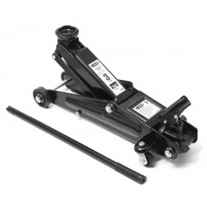 Floor jack 3T with rotary handle 360° (h min 130mm, h max 410mm)