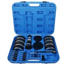 Front wheel bearing removal tool kit VAG(Ø 62 mm: VWLupo, AudiA2 1.21, Ø 66 mm: VWPolo, Fabia, Ø 72