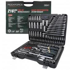 Tool set 216pcs 1/4'', 3/8'', 1/2'', 6 point, 4-32mm