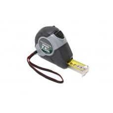 Tape measure 5mх19mm (magnetic hook, auto-lock, double-base housing), in blister
