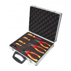 Insulated pliers and screwdriver set 8 pcs (screwdrivers: РН0х60, РZ2х100, SL:4х75, 4x100, indicator