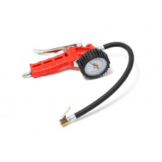 Gun for tire inflating with pressure gauge and hose (0-16Bar)