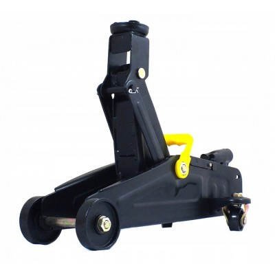 Hydraulic floor jack 2T with reinforced casing ''Profi''(additional stiffeners, h min 135mmh max 320m