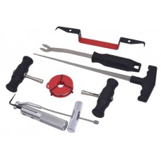 Windshield removal kit 7pcs, in a case