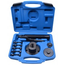 Wheel bearing tool kit Ford Transit 11pcs, in a case