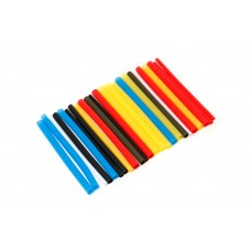 Set of glue heat shrink tubes ''Universal-Auto''(Ø before/after shrinkage 3.2/1.6-6pcs, 4.8/2.4-6pcs,