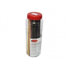 Set of glue heat shrink tubes ''Electric''(Ø before/after shrinkage 1.6/08-5 2.4/1.6-5 3.2/1.6-5 4.8/