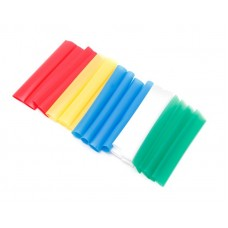 Set of heat shrink tubes ''Color №100''20pcs, (Ø before/after shrinkage 4.8/9.5mm, L-100mm)
