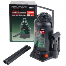 Bottle jack 30T + repair kit (pickup height - 285mm, lifting height - 465mm, rod step - 180mm)T