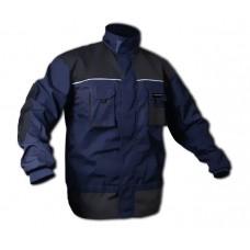 Work jacket with inserts, 8 pockets (LD/54, chest:108-116, waist:88-96, height:182-188cm, polyester/