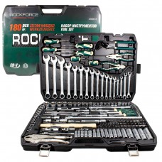 Tool set 180pcs 1/4'', 3/8'',1/2'', 6 point, 4-32mm