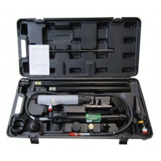 Hydraulic body frame repair kit 10T + reverse jack, in a metal case