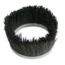 Brush for sandblasting gun