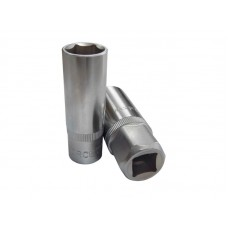 Spark plug socket 14mm, 3/8'',12 point (L-65mm), in plastic holder