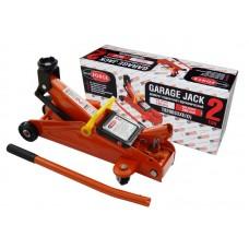 Hydraulic trolley jack 2T (h min 130mm, h max 380mm), in a case
