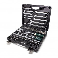 Tool set 82pcs 1/2'', 1/4'', 6 point, 4-32mm