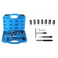 Diesel Injector Seat Cutter Set 10PCS