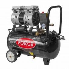 Piston oil free air compressor with direct drive (0.75kW, 8 bar, receiver 24L, 105 l/m, 1380 rpm, 22