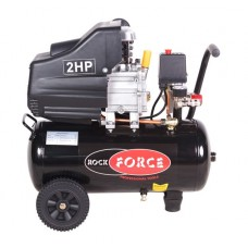 Piston air compressor with direct drive (1.5kW, 8 bar, receiver 24L, 198 l/m, 2850 rpm, 220V, with c
