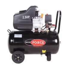Piston air compressor with direct drive (1.86 kW, 8 bar, receiver 50L, 206 l/m, 2850 rpm, 220V, with