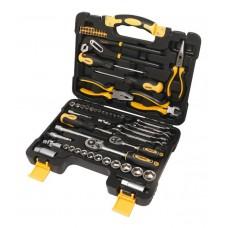 Tool set 65pcs (1/4'', 3/8'', 6 point) (4-24mm)