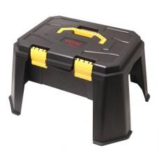 Набор инструментов 65пр.1/2''(8-32мм, ключи:8-19мм,шарнирно-губцевый инстр.,отвертки+лопата 9в1,перчатки, кейс-слесарный стул max нагр.120кг)в кейсе