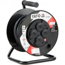 Удлинитель электрический на катушке 20м 4 розетки с крышками